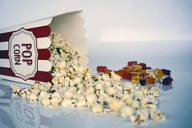 popcorn a medvídci