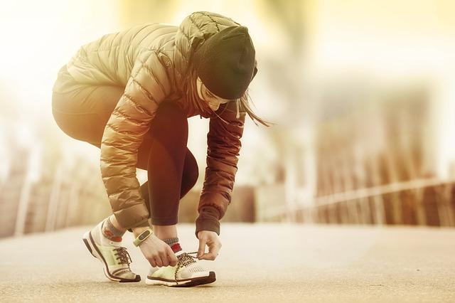 příprava na běh