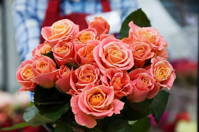 květina pro ženu