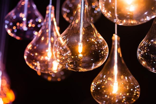 skleněná světla