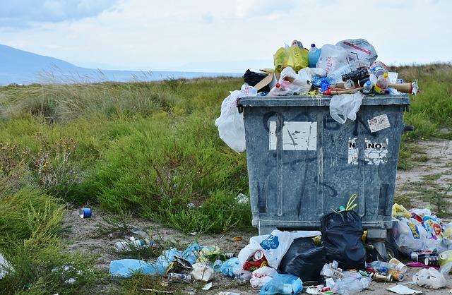 kontejner odpadků