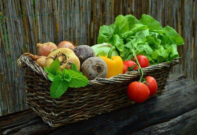 truhlík zeleniny